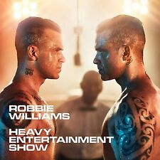 ROBBIE WILLIAMS THE HEAVY ENTERTAINMENT SHOW CD - NEW RELEASE NOVEMBER 2016