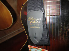 Rivington Guitars Guitar Strap In Sleek Black For Acoustic Electric Bass Nice!