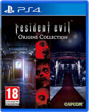 RESIDENT EVIL ORIGINS COLLECTION PS4 ESPAÑOL CASTELLANO NUEVO PRECINTADO