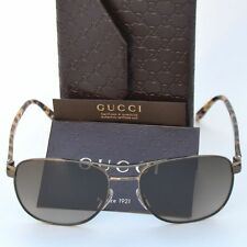 GUCCI New Designer Aviator Sunglasses GG 2220/S 57-17-140 WO4HA Authentic