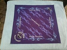 Original Harley Davidson Bandana DENVER COLORADO PURPLE