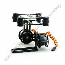 Light Weight 2-Axis CNC Camera Mount Gimbal with 2208 Motors for Gopro DJI BLACK