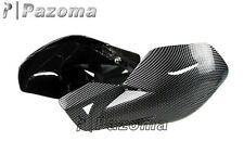 Carbon Dirt Bike ATV MX Motocross Motorcycle Hand Guards Handguards W/Mount Kit