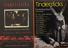 5 X TINDERSTICKS FLYERS  THE WAITING ROOM 2016 TOUR  & 2011 CLAIRE DENIS