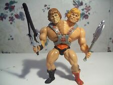 1980's Masters Of The Universe Custom Two-Bad Figure of Wonder Bread He-Man
