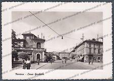 PAVIA MORTARA 28 Cartolina FOTOGRAFICA viaggiata 1953