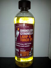 Citronella Torch & Lamp Oil - 1 Litre Bottle - for Oil Lamps and BBQ Flares