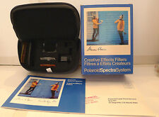 Polaroid Spectra Camera Creative Effects Filter Set F106 - F111 Case &Manual NEW