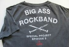 Big Ass Rock Band Special Project Episode 2 - T shirt size L - three photos