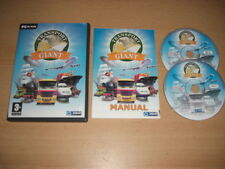 TRANSPORT GIANT  Pc Cd Rom Original with Manual - FAST POST