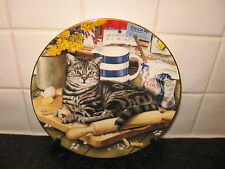 CATS  OF CHARACTER    PLATE -  THE KITCHEN    CAT   -  ROYAL DOULTON