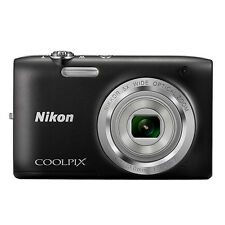 Nikon Coolpix S2800 20.1 MP Digital Camera 5x Optical Zoom Black