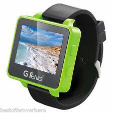 GTeng T909 5.8G FPV Watch Wearable Receiver with 2.6 inch LCD Screen Green