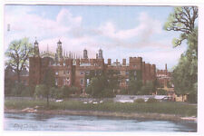 Eton College From River Berkshire England UK 1910c postcard