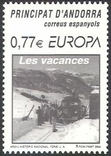 Andorra 2004 Europa/Tourism/Coach/Bus/Transport/Skiing/Skiers/Sports 1v (n42664)
