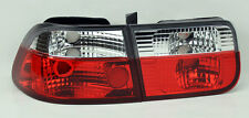 Honda Civic 96-00 2dr Coupe Euro Red Clear Rear Altezza Tail Lights PAIR RH LH