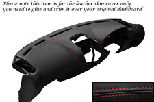 RED STITCH DASH DASHBOARD LEATHER SKIN COVER FITS MITSUBISHI FTO 1994-2001