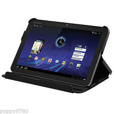 Motorola Protective Portfolio Case for XOOM Tablet Black Folding Cover