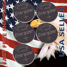 5x Energizer CR2016 Lithium Battery 3V Coin Cell Exp 2024