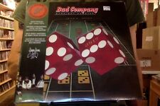 Bad Company Straight Shooter 2xLP sealed 180 gm vinyl RE reissue deluxe