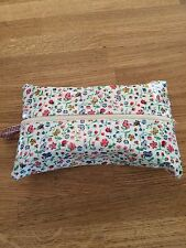Handmade baby wipes holder case in Cath Kidston  Oilcloth fabric