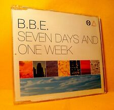 MAXI Single CD B.B.E. Seven Days & One Week 3TR 1996 Trance