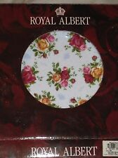 "Royal Albert ""Old Country Roses"" BLUE DAMASK Salad Plate~ New In Box"