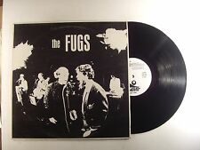 the fugs lp self titled  base italian import  vg+/m-