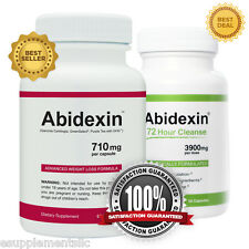Abidexin & Abidexin72 - Strong Weight Loss Pill Combine with Detox