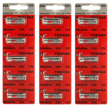 Toshiba A23 Battery 12Volt 23AE 21/23 GP23 23A 23GA MN21 12v 15 Batteries