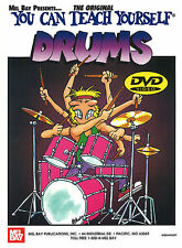 MEL BAY'S YOU CAN TEACH YOURSELF DRUMS BY JAMES MORTON BOOK & DVD SET