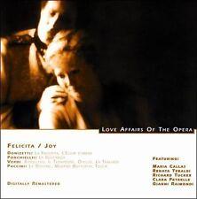 FREE US SH (int'l sh=$0-$3) NEW CD Unknown Artist: Love Affairs Of The Opera - F