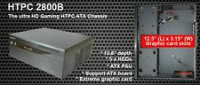 Brand new nMedia HTPC 2800B Black ATX Desktop HTPC Case