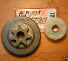 "Genuine Stihl RUOTA DENTATA & Worm MS200T MS200 020T 1129 640 2050 3/8 "" 7T tracciate"