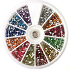 1.5mm 3600pcs Nail Art 3D DIY Rhinestones Decoration For UV Acrylic Accessories