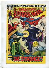 THE AMAZING SPIDER-MAN #109 (6.5) ENTER DR. STRANGE ! 1972