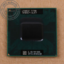 Intel Core 2 Duo T7700- 2.4 GHz Dual-Core (BX80537T7700) SLAF7 4MB/800 CPU
