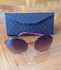 GUCCI GG 4247 /S Pink Rimless Frameless Women Sunglasses