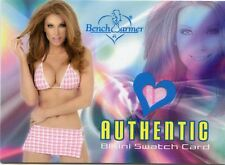 2003 BENCHWARMER ANGELICA BRIDGES BIKINI SWATCH