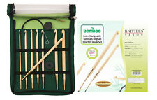 Knitter's Pride Bamboo Interchangeable Tunisian Crochet Hook Set