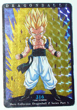 Carte DRAGON BALL Z DRAGONBALL GT CARDDASS CARD PRISM CARTE n°316 JAPAN 1995