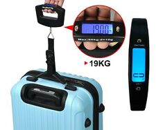 Portable 50kg Digital Weighing Scale Hanging Travel Suitcase Luggage Bag e Scale