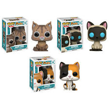 Funko POP! Pets Series 1 Vinyl Figures - SET OF 3 CATS (CALICO, MAINE COON+1)