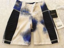 Lululemon Breath Of Fire Short 2 Womens Milky Way Galaxy Print Luxtreme Nwt