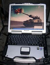 2 Panasonic Toughbook CF-29 MK-5 BACKLIT KEYBORD, WIRELESS, LOADED READY TO USE