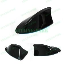 Black Car Roof Shark Fin Antenna Aerial FM / AM Radio Mount Mast Signal Sticker