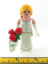 PLAYMOBIL~Dollhouse~Princess~Lady~Bride~Victorian~Red Ribbon~Bouquet~Red Roses~4