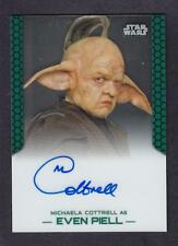 STAR WARS CHROME PERSPECTIVES  AUTO/AUTOGRAPH MICHAELA COTTRELL AS EVEN PIELL