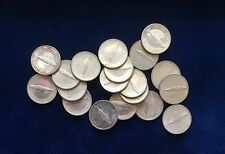 "CANADA  1967  10 CENTS ""CENTENNIAL"" BRILLIANT UNCIRCULATED SILVER COINS (19)"