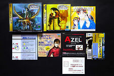 AZEL PANZER DRAGOON RPG saga + Spine+Reg.Card Sega Saturn JAPAN VGC
